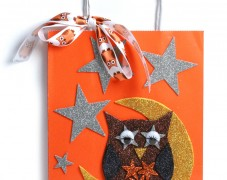 Autumn Owl Gift Bag