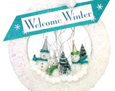 Welcome Winter Wreath