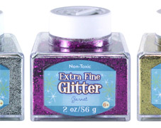 Advantus/Sulyn 2 oz Glitter Stacker Jars