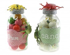 Glittered Candy Jars