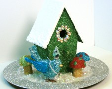 Christmas Birdhouse