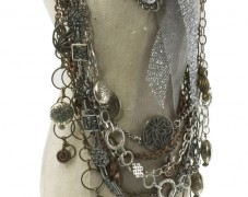 Multi-Chain Metal Necklace