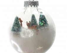 Winter Ornament with Miniatures