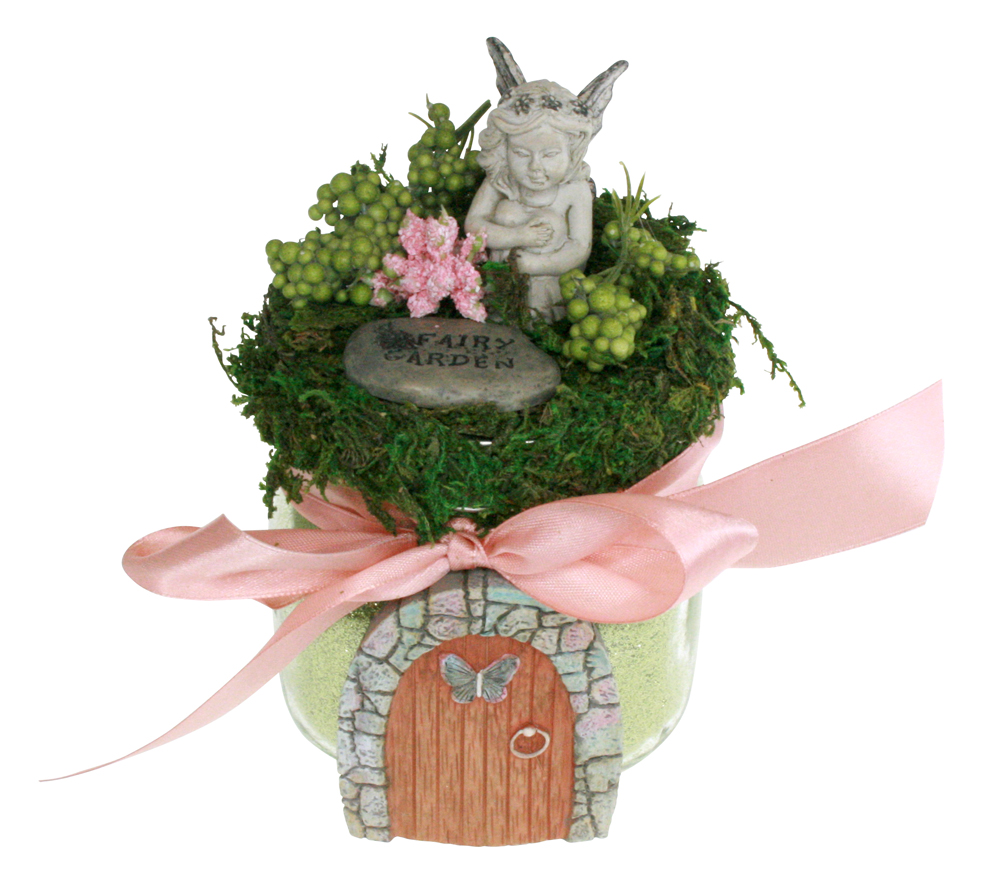 FairyGardenDoorAngel
