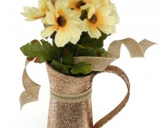 Glittered Pitcher