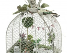 Fairy Tea Party in Cage