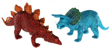 GlitteredDinosaurs