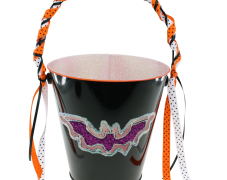 Glow-in-the-Dark Bat Bucket