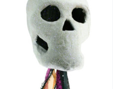 Glow-in-the-Dark Skull Wand