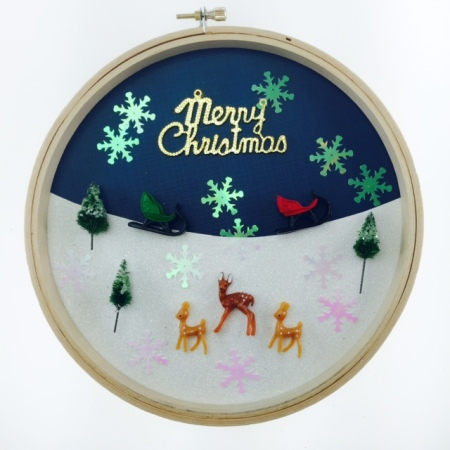 MiniHoliday Embroidery Hoop