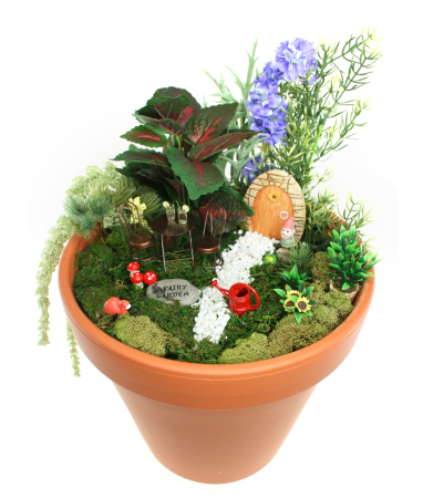 Whimsical Miniature Garden Sparrow Innovations