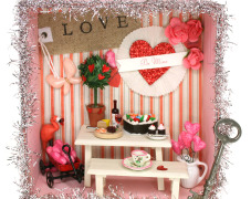 Valentineu0027s Day Shadow Box & JoAnn Fabric and Crafts | Sparrow Innovations Aboutintivar.Com
