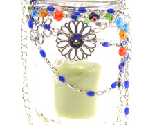 Jeweled Hanging Lantern