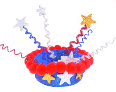 Sparkle Patriotic Hat
