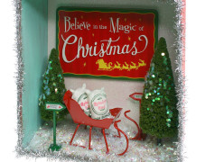 North Pole Shadow Box