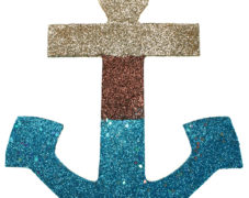Glittered Summer Anchor