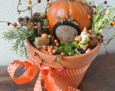 Autumn Fairy Garden