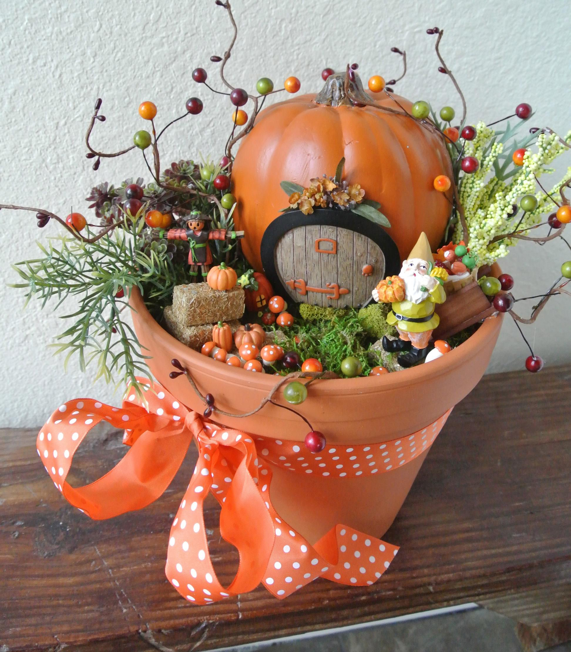 Autumn Fairy Garden Sparrow Innovations