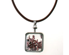 Gem-Filled Charm Necklace