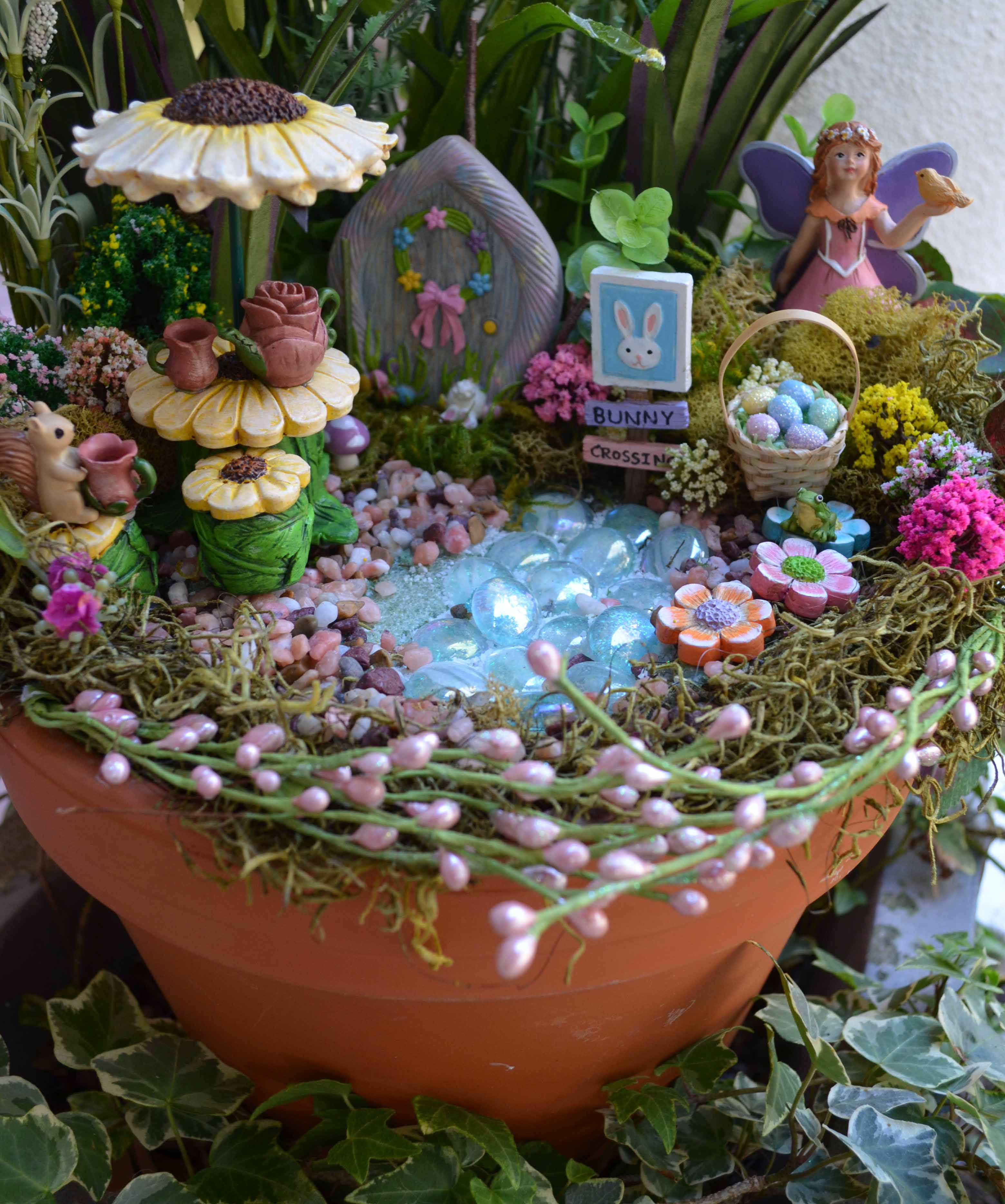 Gorgeous Easter Fairy Garden  Sparrow Innovations With Licious Spring Easter Bunny Fairy Garden Created With Minis From Michaels With Archaic Jade Garden Saffron Walden Also Windsor Castle Gardens In Addition Willows Garden Centre And Gardening Jobs In Hampshire As Well As Garden Storage Containers Additionally Gardeners In Bromley From Sparrowinnovationscom With   Licious Easter Fairy Garden  Sparrow Innovations With Archaic Spring Easter Bunny Fairy Garden Created With Minis From Michaels And Gorgeous Jade Garden Saffron Walden Also Windsor Castle Gardens In Addition Willows Garden Centre From Sparrowinnovationscom