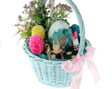 Easter Fairy Garden Basket
